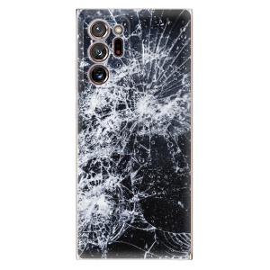 Odolné silikonové pouzdro iSaprio - Cracked na mobil Samsung Galaxy Note 20 Ultra