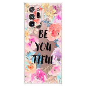 Odolné silikonové pouzdro iSaprio - BeYouTiful na mobil Samsung Galaxy Note 20 Ultra