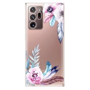 Odolné silikonové pouzdro iSaprio - Flower Pattern 04 na mobil Samsung Galaxy Note 20 Ultra - poslední kousek za tuto cenu