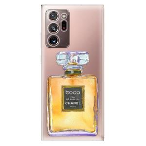 Odolné silikonové pouzdro iSaprio - Chanel Gold na mobil Samsung Galaxy Note 20 Ultra
