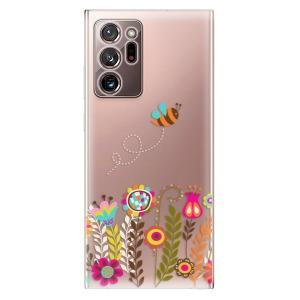 Odolné silikonové pouzdro iSaprio - Bee 01 na mobil Samsung Galaxy Note 20 Ultra