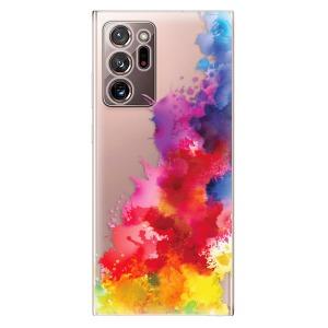 Odolné silikonové pouzdro iSaprio - Color Splash 01 na mobil Samsung Galaxy Note 20 Ultra
