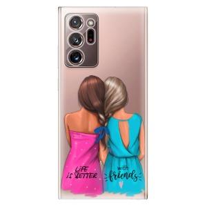 Odolné silikonové pouzdro iSaprio - Best Friends na mobil Samsung Galaxy Note 20 Ultra