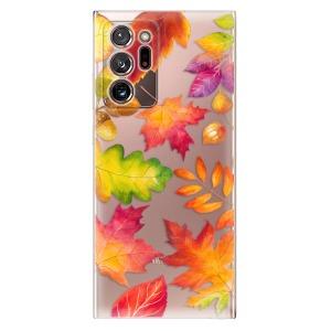 Odolné silikonové pouzdro iSaprio - Autumn Leaves 01 na mobil Samsung Galaxy Note 20 Ultra