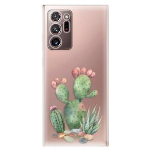 Odolné silikonové pouzdro iSaprio - Cacti 01 na mobil Samsung Galaxy Note 20 Ultra