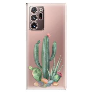 Odolné silikonové pouzdro iSaprio - Cacti 02 na mobil Samsung Galaxy Note 20 Ultra