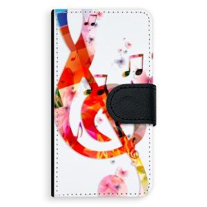 Univerzální knížkové flip pouzdro iSaprio - Music 01 - velikost Flip M (pro telefony s výškou 142 až 153 mm) - ROZBALENO