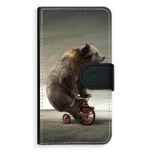 Univerzální knížkové flip pouzdro iSaprio - Bear 01 - velikost Flip XL (pro telefony s výškou 157 až 167 mm) - poslední kousek za tuto cenu