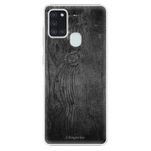 Plastové pouzdro iSaprio - Black Wood 13 na mobil Samsung Galaxy A21s
