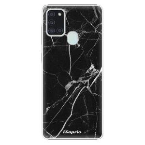 Plastové pouzdro iSaprio - Black Marble 18 na mobil Samsung Galaxy A21s