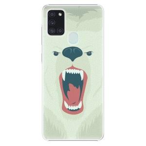 Plastové pouzdro iSaprio - Angry Bear na mobil Samsung Galaxy A21s