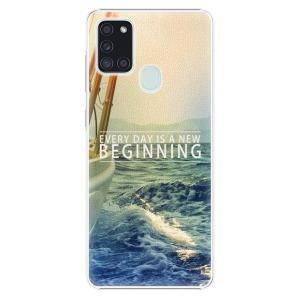 Plastové pouzdro iSaprio - Beginning na mobil Samsung Galaxy A21s