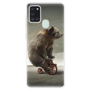 Plastové pouzdro iSaprio - Bear 01 na mobil Samsung Galaxy A21s
