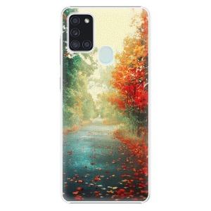 Plastové pouzdro iSaprio - Autumn 03 na mobil Samsung Galaxy A21s