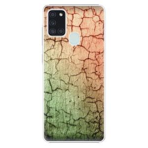 Plastové pouzdro iSaprio - Cracked Wall 01 na mobil Samsung Galaxy A21s