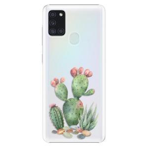 Plastové pouzdro iSaprio - Cacti 01 na mobil Samsung Galaxy A21s