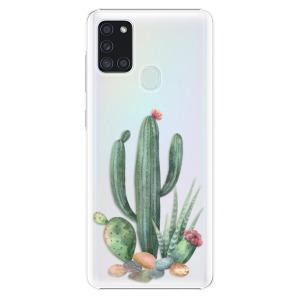 Plastové pouzdro iSaprio - Cacti 02 na mobil Samsung Galaxy A21s