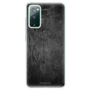 Plastové pouzdro iSaprio - Black Wood 13 na mobil Samsung Galaxy S20 FE / Samsung Galaxy S20 FE 5G