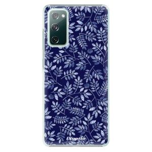 Plastové pouzdro iSaprio - Blue Leaves 05 na mobil Samsung Galaxy S20 FE / Samsung Galaxy S20 FE 5G