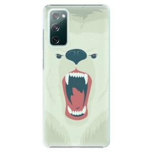 Plastové pouzdro iSaprio - Angry Bear na mobil Samsung Galaxy S20 FE / Samsung Galaxy S20 FE 5G