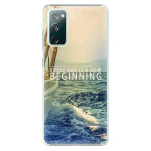Plastové pouzdro iSaprio - Beginning na mobil Samsung Galaxy S20 FE / Samsung Galaxy S20 FE 5G