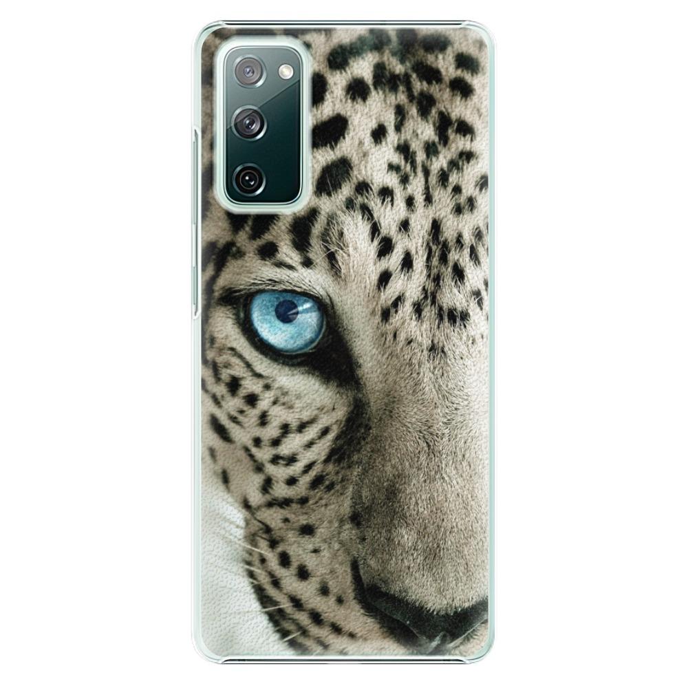 Plastové pouzdro iSaprio - White Panther - Samsung Galaxy S20 FE