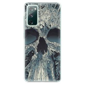Plastové pouzdro iSaprio - Abstract Skull na mobil Samsung Galaxy S20 FE / Samsung Galaxy S20 FE 5G