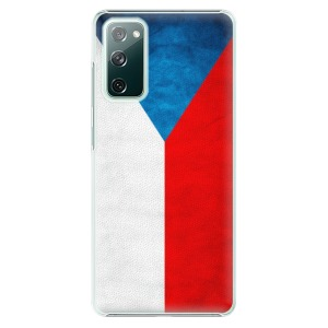 Plastové pouzdro iSaprio - Czech Flag na mobil Samsung Galaxy S20 FE / Samsung Galaxy S20 FE 5G