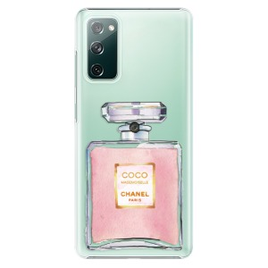 Plastové pouzdro iSaprio - Chanel Rose na mobil Samsung Galaxy S20 FE / Samsung Galaxy S20 FE 5G