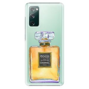 Plastové pouzdro iSaprio - Chanel Gold na mobil Samsung Galaxy S20 FE / Samsung Galaxy S20 FE 5G