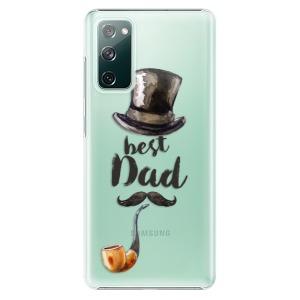 Plastové pouzdro iSaprio - Best Dad na mobil Samsung Galaxy S20 FE / Samsung Galaxy S20 FE 5G