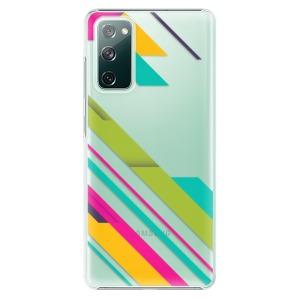 Plastové pouzdro iSaprio - Color Stripes 03 na mobil Samsung Galaxy S20 FE / Samsung Galaxy S20 FE 5G