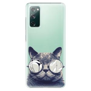 Plastové pouzdro iSaprio - Crazy Cat 01 na mobil Samsung Galaxy S20 FE / Samsung Galaxy S20 FE 5G