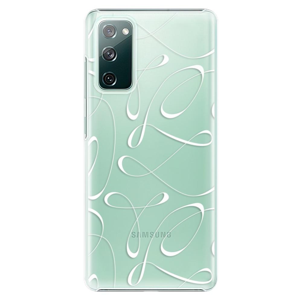 Plastové pouzdro iSaprio - Fancy - white - Samsung Galaxy S20 FE