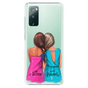 Plastové pouzdro iSaprio - Best Friends na mobil Samsung Galaxy S20 FE / Samsung Galaxy S20 FE 5G