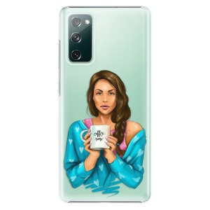 Plastové pouzdro iSaprio - Coffe Now - Brunette na mobil Samsung Galaxy S20 FE / Samsung Galaxy S20 FE 5G