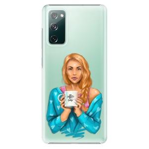 Plastové pouzdro iSaprio - Coffe Now - Redhead na mobil Samsung Galaxy S20 FE / Samsung Galaxy S20 FE 5G