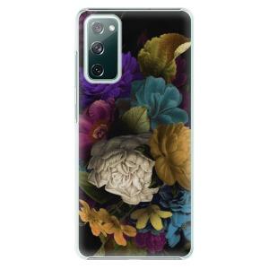Plastové pouzdro iSaprio - Dark Flowers na mobil Samsung Galaxy S20 FE / Samsung Galaxy S20 FE 5G