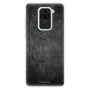 Plastové pouzdro iSaprio - Black Wood 13 na mobil Xiaomi Redmi Note 9