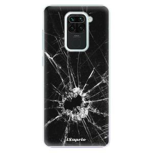 Plastové pouzdro iSaprio - Broken Glass 10 na mobil Xiaomi Redmi Note 9