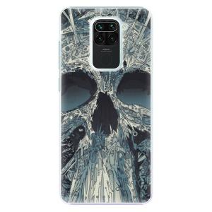 Plastové pouzdro iSaprio - Abstract Skull na mobil Xiaomi Redmi Note 9