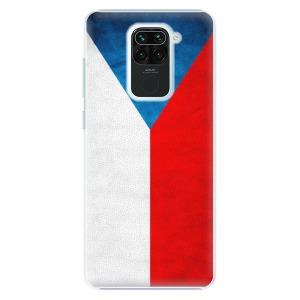Plastové pouzdro iSaprio - Czech Flag na mobil Xiaomi Redmi Note 9