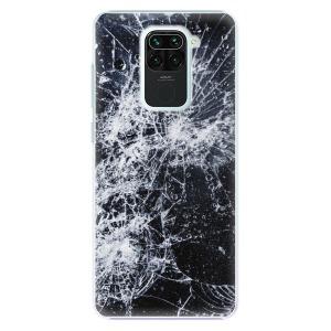 Plastové pouzdro iSaprio - Cracked na mobil Xiaomi Redmi Note 9