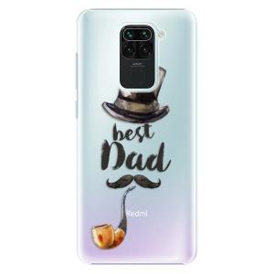 Plastové pouzdro iSaprio - Best Dad na mobil Xiaomi Redmi Note 9
