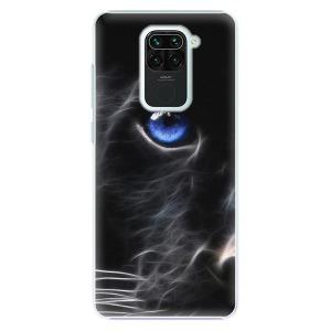 Plastové pouzdro iSaprio - Black Puma na mobil Xiaomi Redmi Note 9
