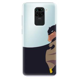 Plastové pouzdro iSaprio - BaT Comics na mobil Xiaomi Redmi Note 9