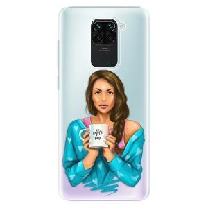 Plastové pouzdro iSaprio - Coffe Now - Brunette na mobil Xiaomi Redmi Note 9