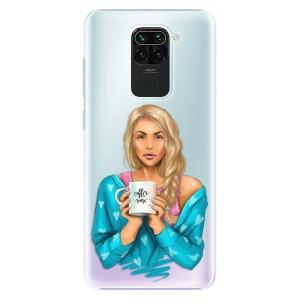 Plastové pouzdro iSaprio - Coffe Now - Blond na mobil Xiaomi Redmi Note 9