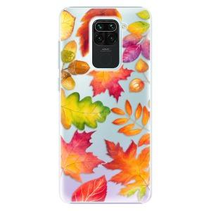 Plastové pouzdro iSaprio - Autumn Leaves 01 na mobil Xiaomi Redmi Note 9