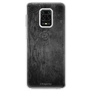 Plastové pouzdro iSaprio - Black Wood 13 na mobil Xiaomi Redmi Note 9S / Xiaomi Redmi Note 9 Pro